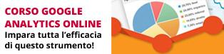 Corso Online Google Analytics