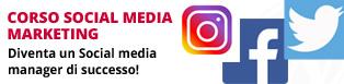 Corso social marketing: social media manager